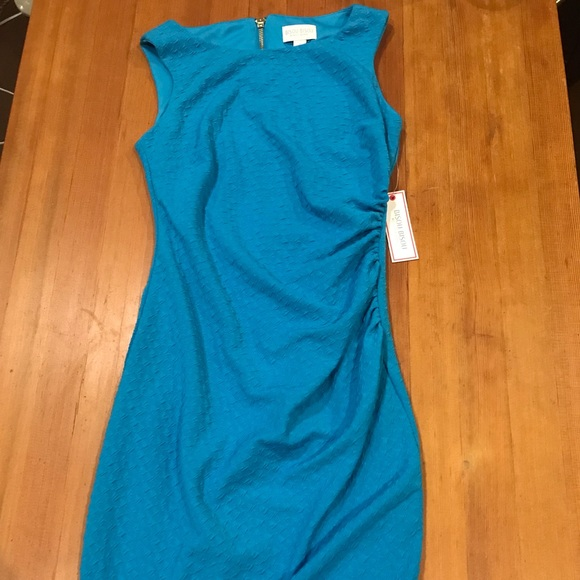 Bisou Bisou Dresses & Skirts - Bisou Bisou aqua cocktail dress- Never worn!